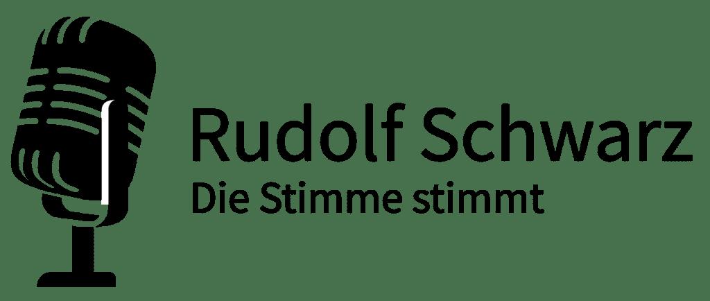 Logo Profiprecher Rudolf Schwarz