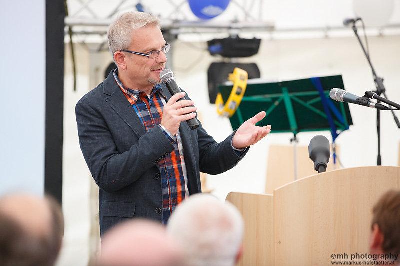 Eröffnung Amsthaus Muckendorf Moderation Rudi Schwarz